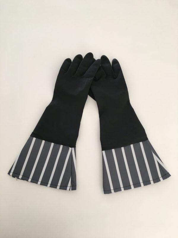 キャンドゥのモノトーンキッチンゴム手袋