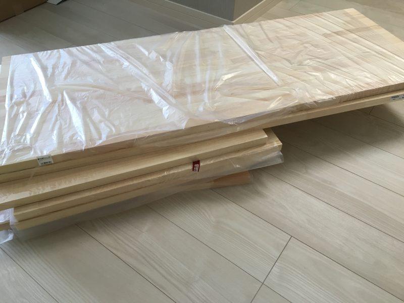化粧スペースに机をDIYしました★ ~その1:木材調達編~