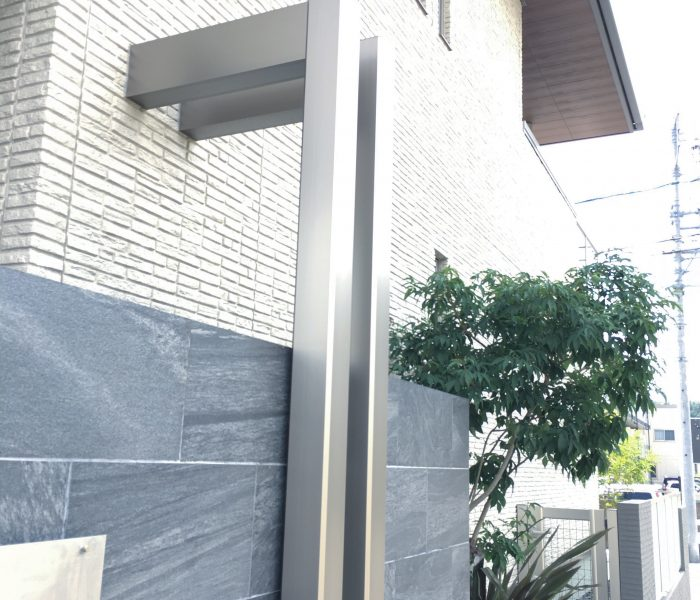 外構のハナシ ~玄関周りと植栽~