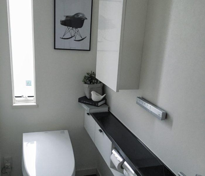 ★トイレ(1階)のインテリア★ …とトイレ造りで後悔していること。