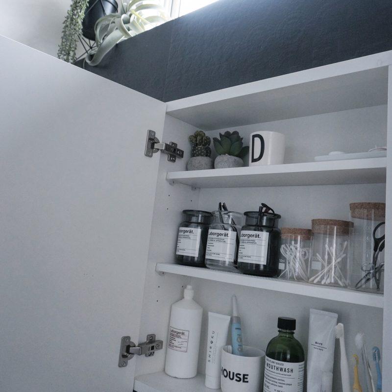 洗面所インテリアを刷新☆歯磨き粉をSHIROKUに変えました