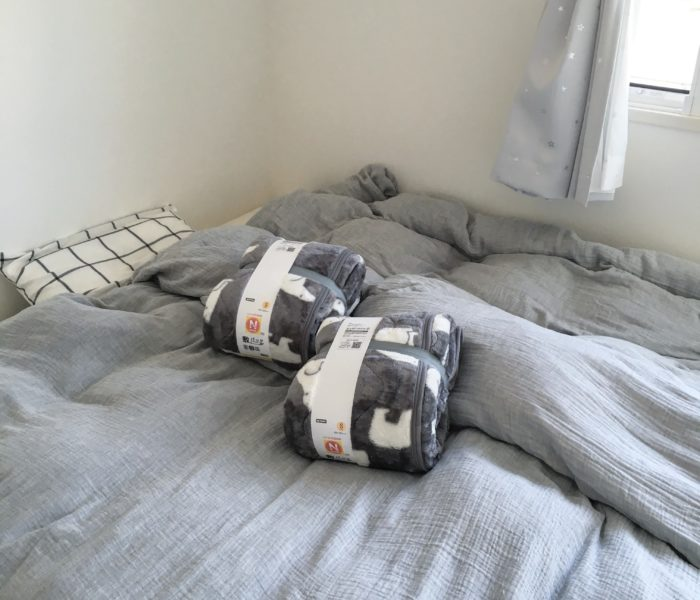 ★ニトリ★子供のベッドにNウォーム白クマ敷きパッドを購入♪