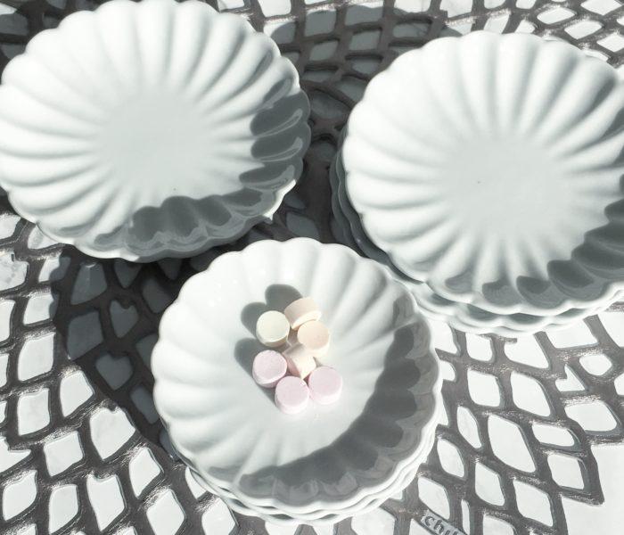 ★セリア購入品★arita japan風?!ホワイト小皿&豆皿