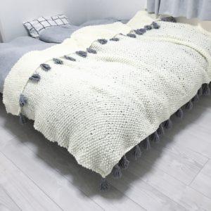 ベッドカバー 手作り