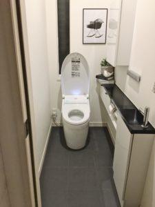 ハイホーム トイレ掃除