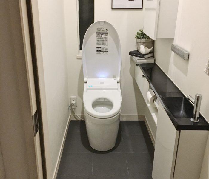★掃除★ハイホームを使ってトイレ掃除!