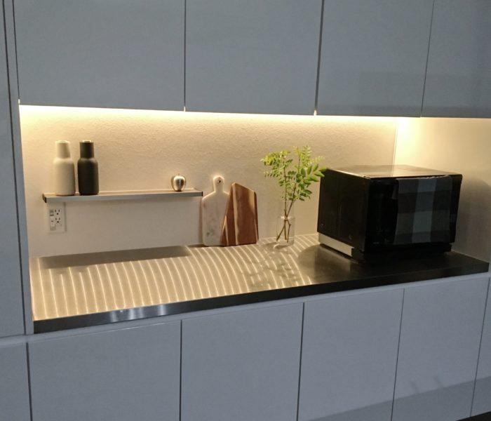 ★IKEA★LEDライトでキッチンの間接照明DIY