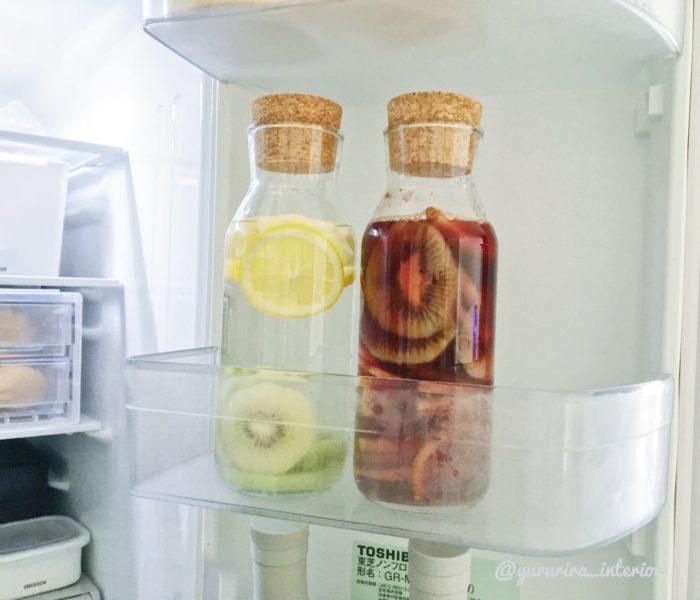 ★macaroni記事★IKEAのコルク栓カラフェでドリンクをおしゃれに保存♪