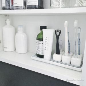 歯ブラシ収納 100均