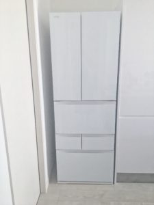 キッチンインテリア 東芝冷蔵庫
