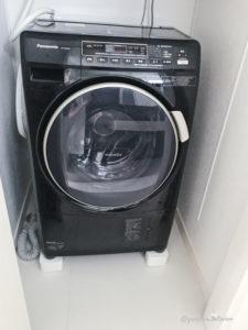 洗濯機周り 洗濯機底上げ