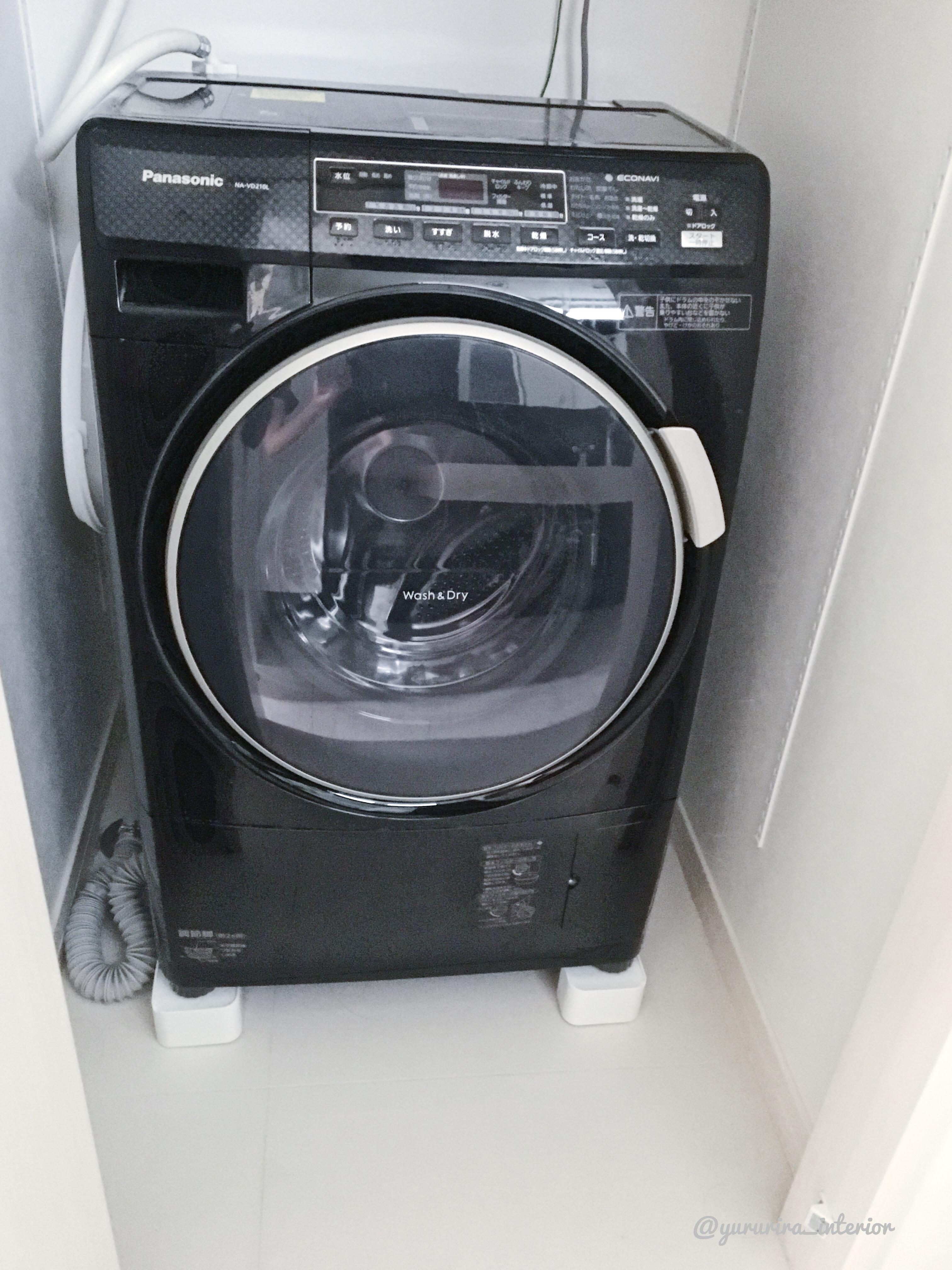 楽天で買った便利グッズで洗濯機周りの掃除が楽に♪
