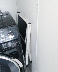 ランドリー収納 洗濯機周り