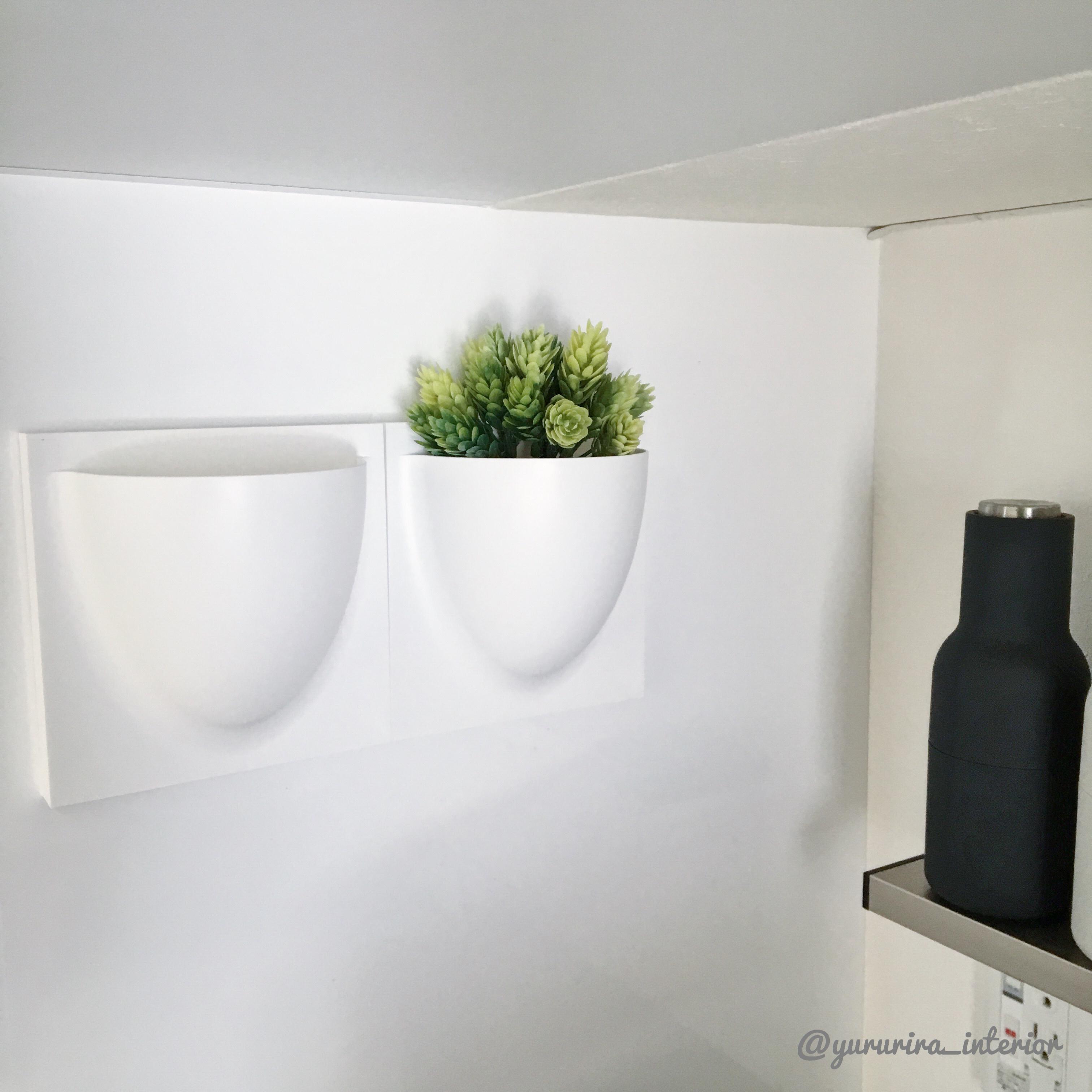 北欧インテリアに憧れて…vertiplants miniをキッチンに設置!