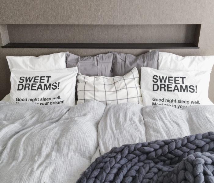 IKEAで目指せ海外みたいな寝室!と楽天で買ったプチプラやわらか毛布★