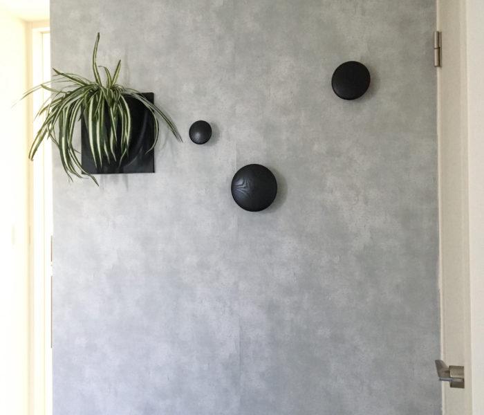 ★北欧雑貨★憧れのmuuto「the dots」を玄関に飾りました♪