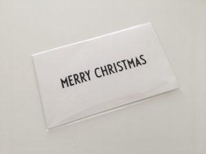 デザインレターズ クリスマス