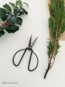 リース手作り クリスマスリース