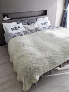 寝室インテリア ベッドカバー