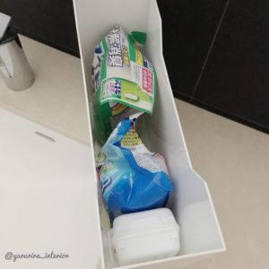 洗剤収納 洗面所収納