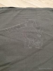 クッションカバー 刺繍