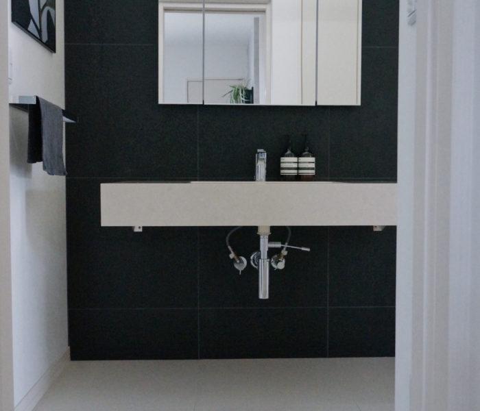 憧れの「Aesop」と初公開アングルで撮った洗面所