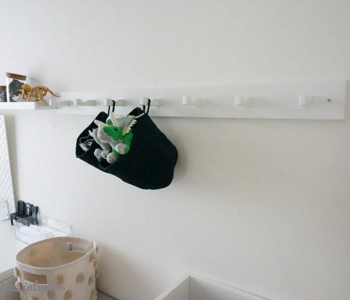 IKEAのフック追加♪IKEAで作る男の子部屋インテリア