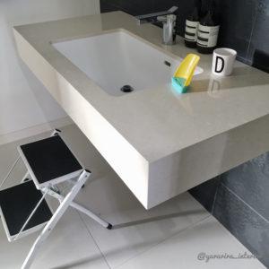子供と暮らす 洗面所インテリア