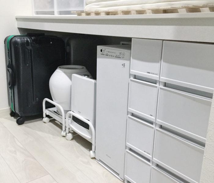 ★WIC収納★季節家電・スーツケース・工具などの収納