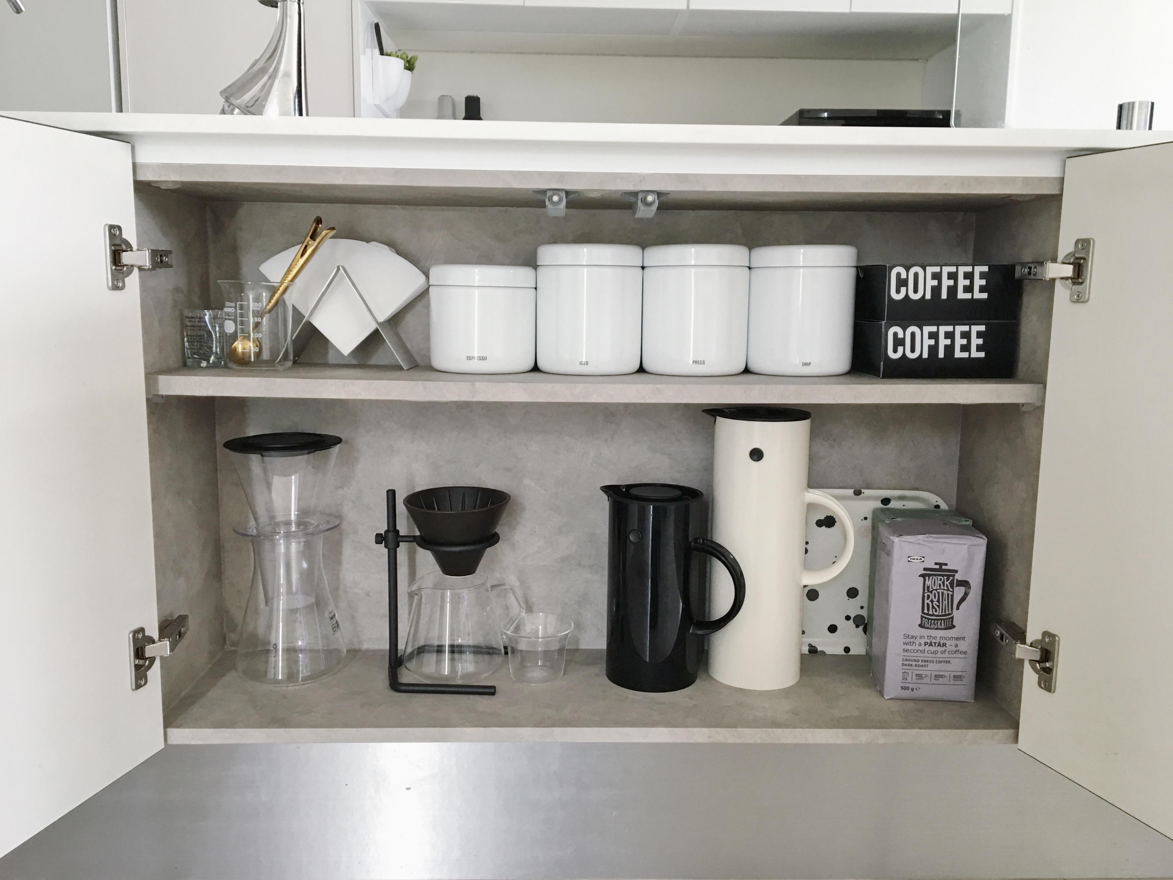 ★folk連載その33★我が家のコーヒーアイテム収納