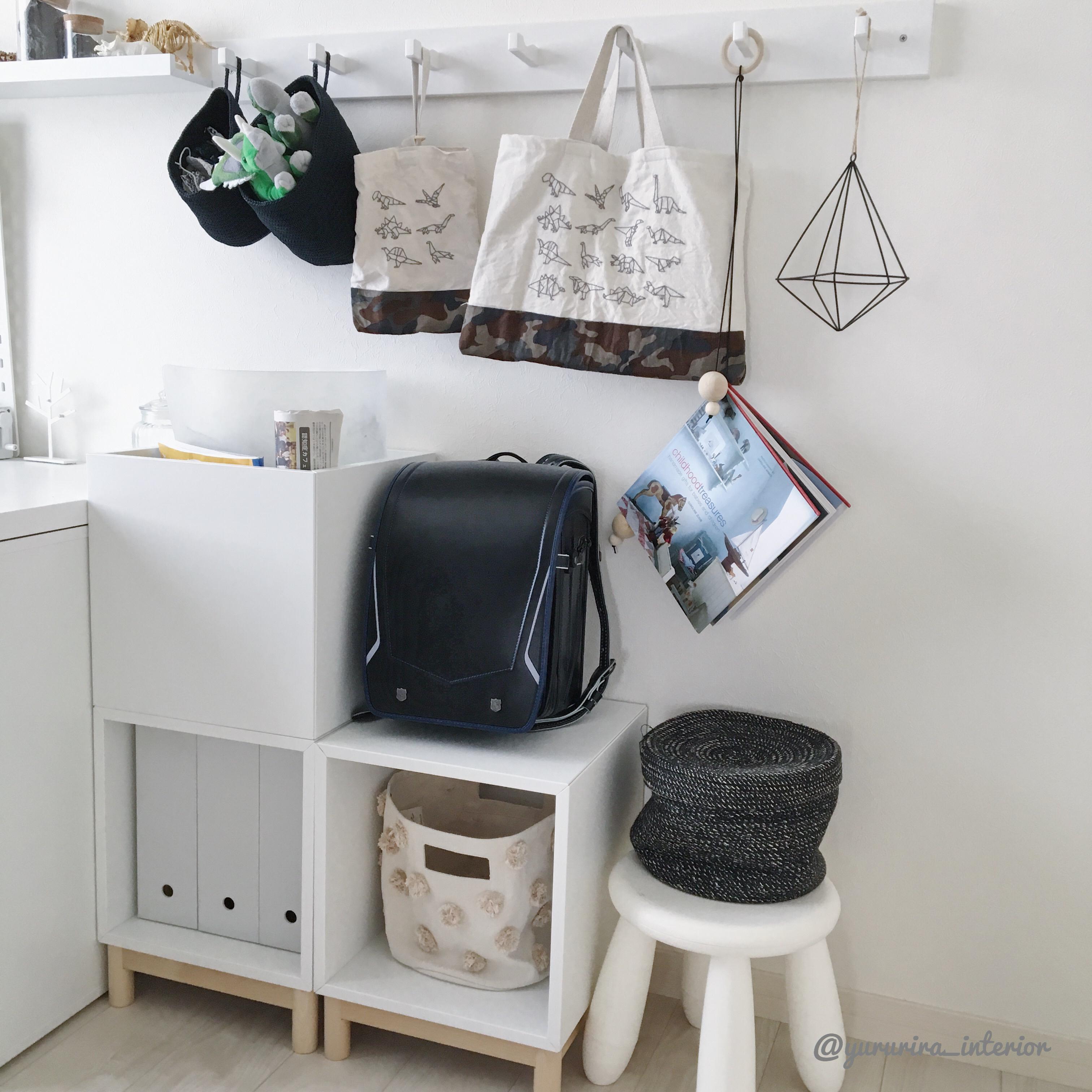 長男部屋と夏休みの宿題…IKEAのエーケトを追加購入しました