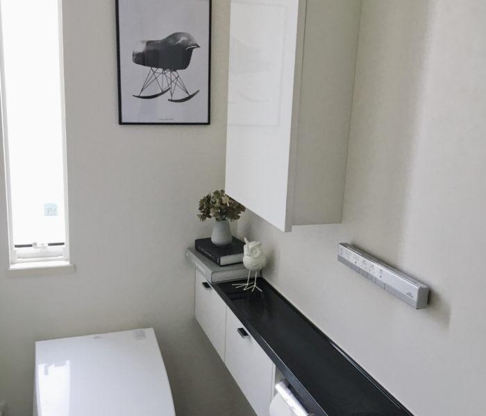 IKEA★久々のトイレとリードディフューザーをフラワーベースに♪