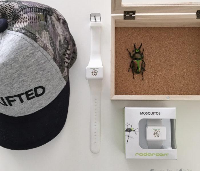 最新虫よけバンドと100均で作るカブトムシの標本
