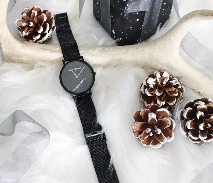 スイス生まれ★文字盤がユニークでおしゃれな腕時計【ALLY DENOVO】