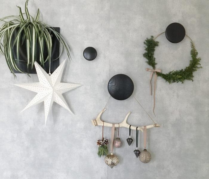 玄関クリスマス仕様★フレッシュグリーンリースを作りました