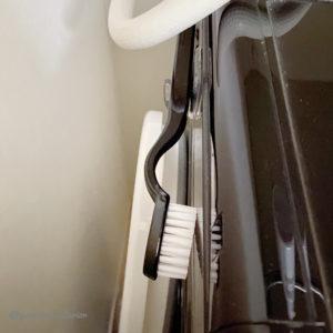 洗濯機上収納 洗剤収納