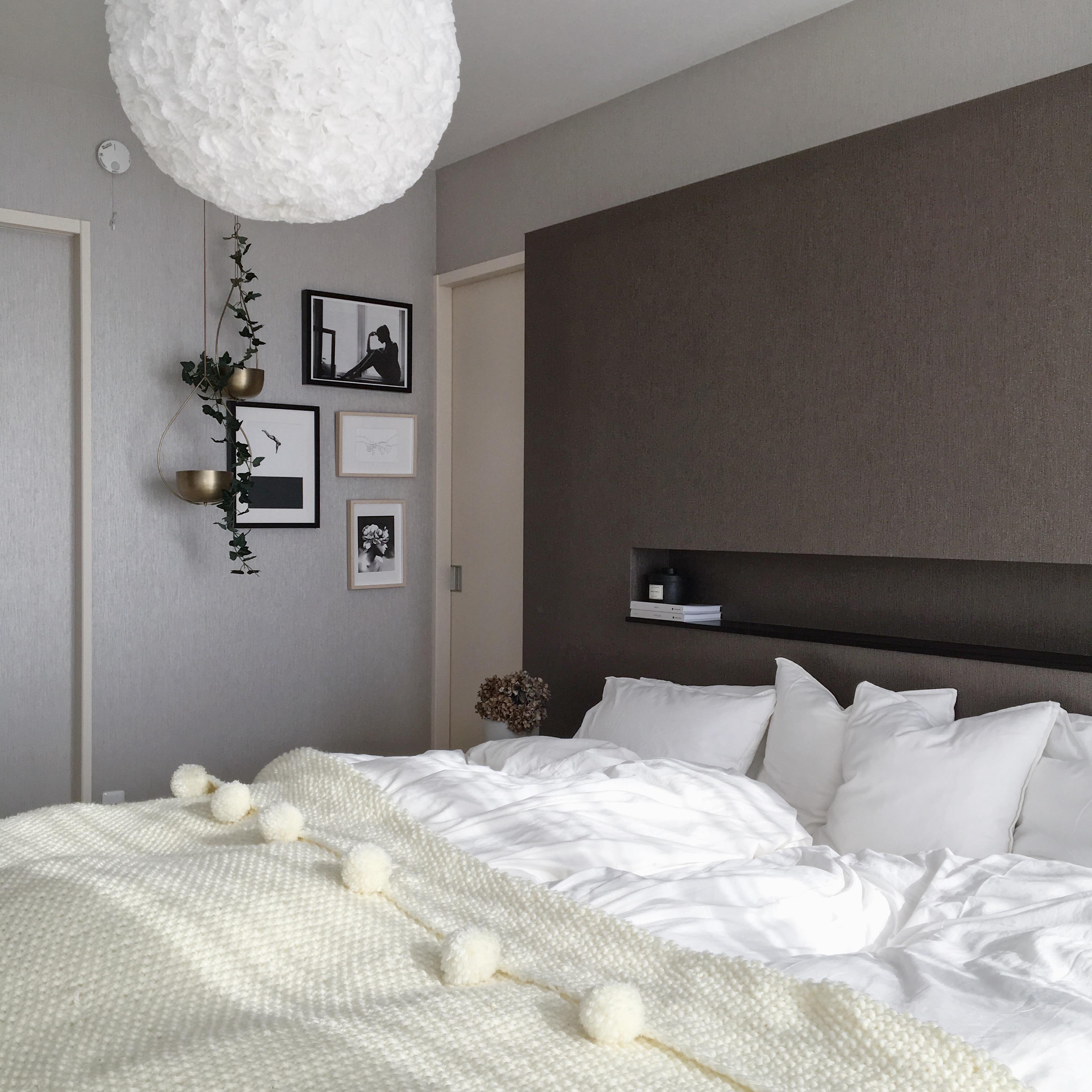 LIMIA記事★IKEA・ダイソーでDIYした主寝室のペンダントライト