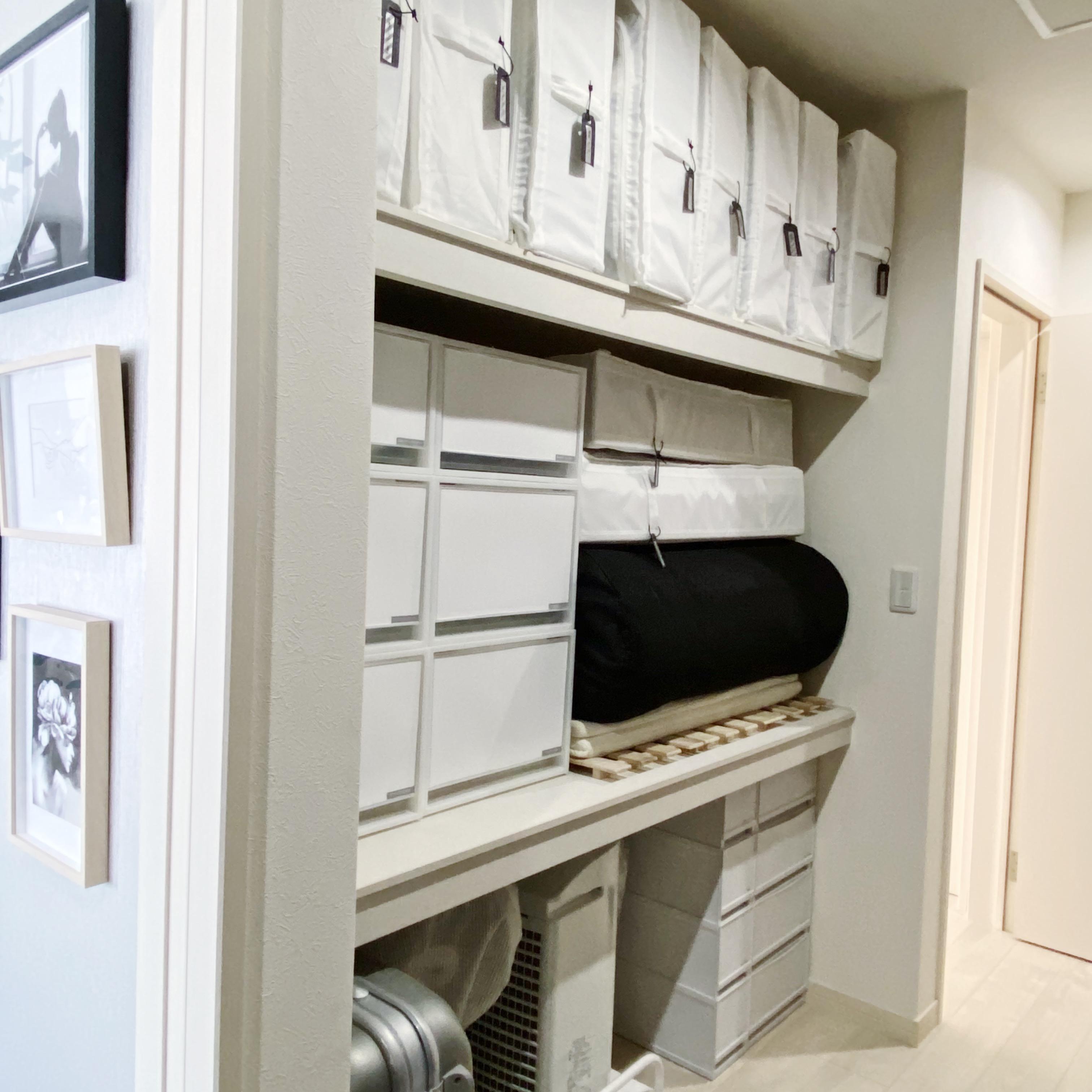 folk連載その43★「無印良品・ニトリ・IKEA」ですっきり押し入れ収納♪