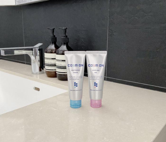 朝と夜で使い分けるトータルケア歯磨き粉【COSMION】