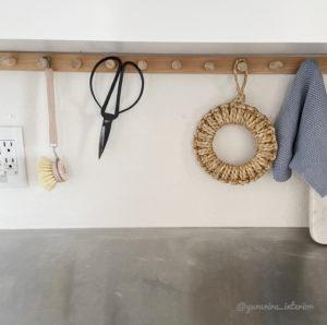 壁掛けフック DIY