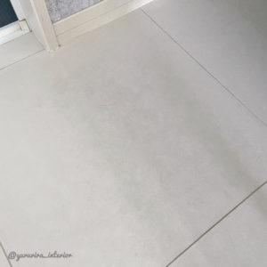 洗面所 タイル床