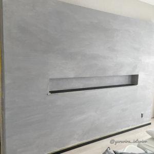モルタル壁 DIY