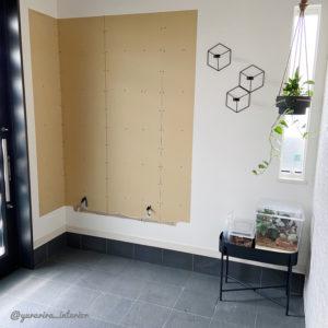 玄関 DIY