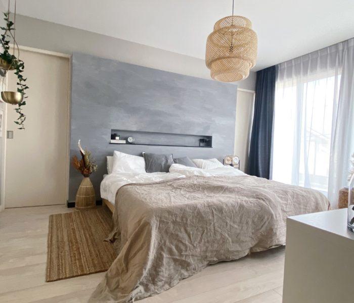 folk連載★IKEAだらけの主寝室。IKEAのプチプラ寝具で秋支度♪