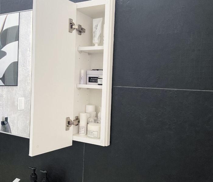 洗面所収納★愛用のスキンケア用品の紹介とその収納