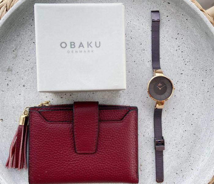 楽天★お値段以上なお財布購入!と北欧【OBAKU】の腕時計