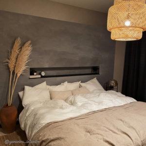 ベッドルーム 間接照明