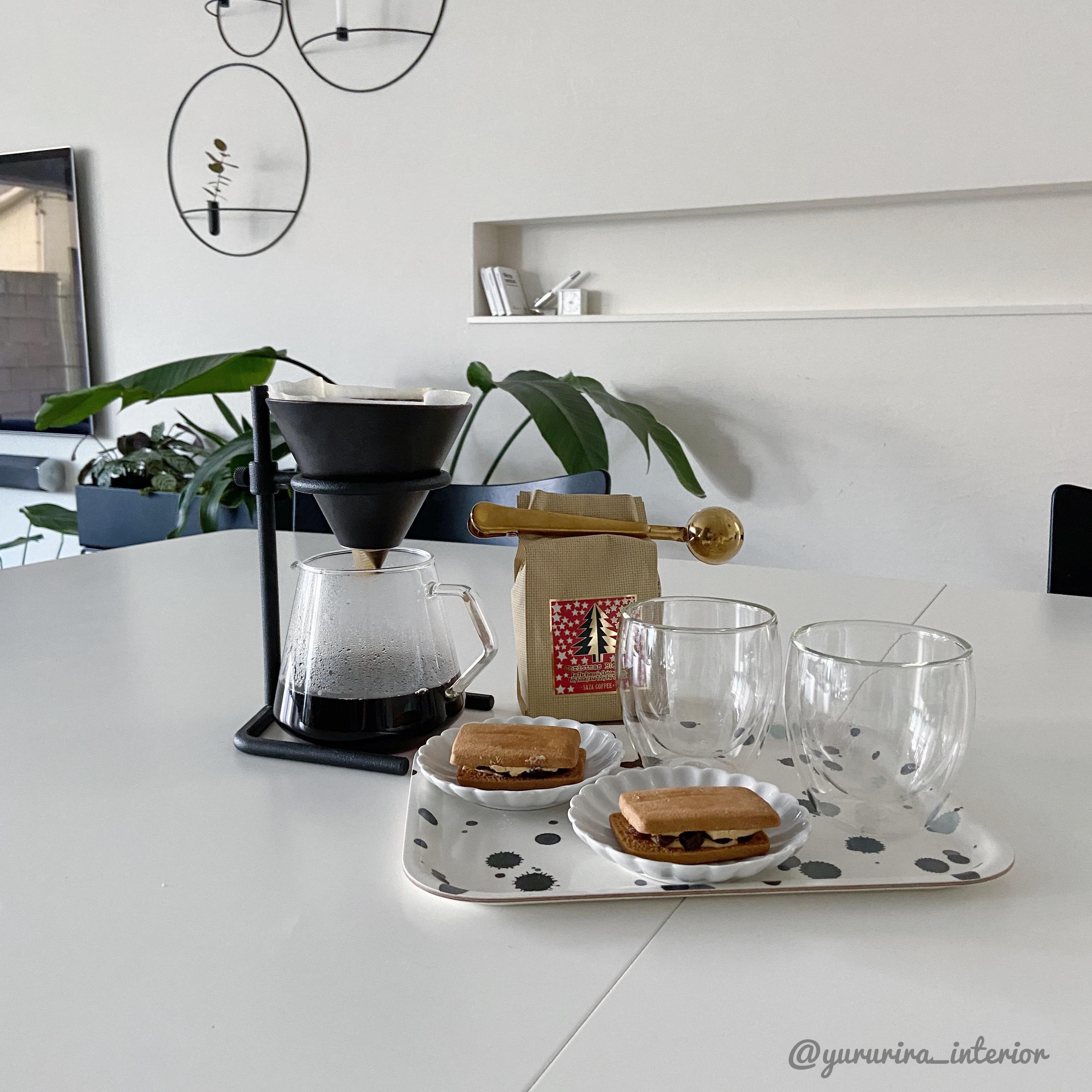 おやつ時間♡愛用のコーヒーメーカーと豆のハナシ