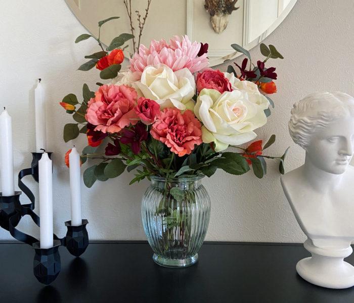 気軽に花を飾るなら…IKEAの造花スミッカがおすすめ★