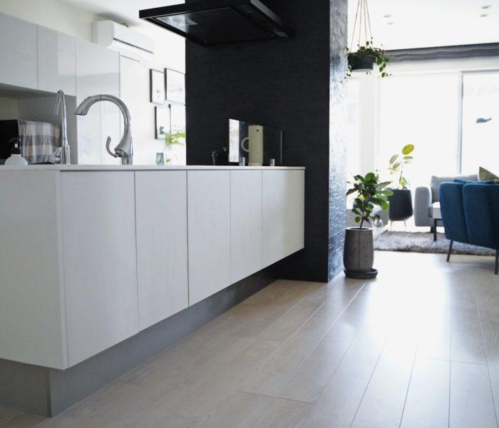 DIY★ハッテミーでキッチンのフルカラーチェンジに成功♪